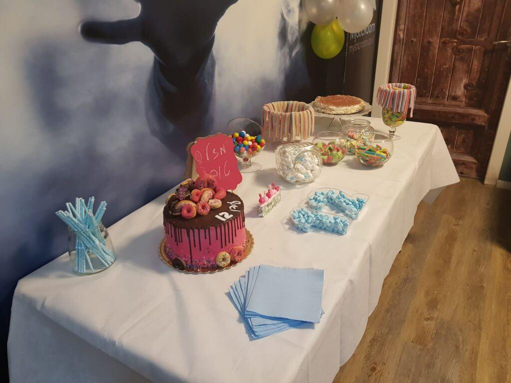 מסיבת יום הולדת במיסטיקרום