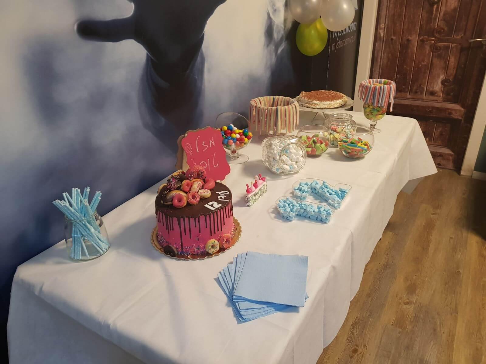 יום הולדת בחדר בריחה של מיסטיקרום